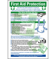 General Awareness Safety Posters - 'First Aid Protection'