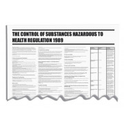 Control of Substances Hazardous to Health COSHH Wallchart