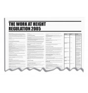 Work @ Height Regulations Wallchart