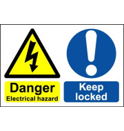 Danger Electrical Room - Safety Sign