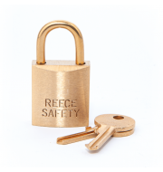 S25 25mm body Brass Keyed to Differ Padlock with Brass shackle