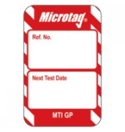 Microtag Inserts - Red - Pack of 20