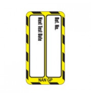 Nanotag Insert - Yellow - Test Due - Pack of 10