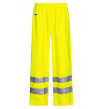 High Viz Arc Flash Yellow Waterproof Trousers 21.1cal/cm2