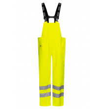 High Viz Arc Flash Yellow Waterproof Salopettes 21.1cal/cm2