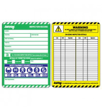 Entrytag� Standard Confined Space Inspection Insert
