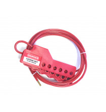 Compact 6 hole cable lockout