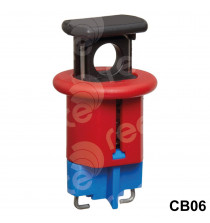 CB06 Push Button Operated MCB Lockout (miniature circuit breaker)