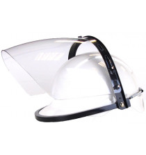 Hard hat mounted electrician's faceshield