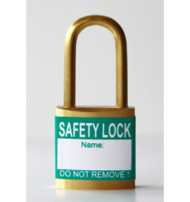 Green padlock labels