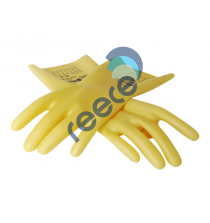 Insulating Latex Gloves 360mmL x 0.5mm thick 500v Class 00