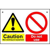 'Caution Do Not Use' - Hanging Lockout Sign