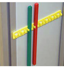 190mm red blocking bar (5 per pack)