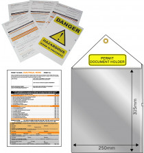 Permit to Work Forms. Pk 10. A4. Asbestos Present