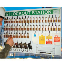 50 lock Departmental Lockout Station (station only)