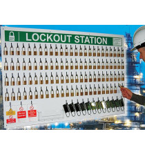 100 lock Departmental Lockout Station (station only)