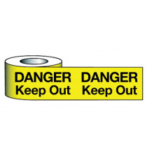 Barrier Warning Tape 150mmx100m Danger Keep Out