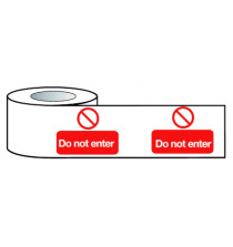 Barrier Warning Tape 150mmx100m Do not enter