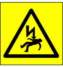 Electrical Safety Labels - Electric Shock Hazard