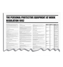 Personal Protective Equip @ Work Regulations Wallchart