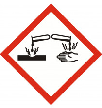 GHS Corrosive Sign