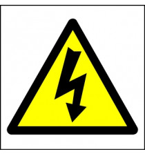 Hazard Warning Sign Electric symbol