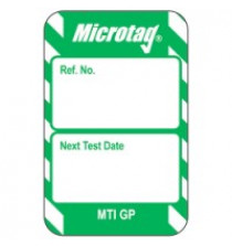 Microtag Inserts - Green - Pack of 20