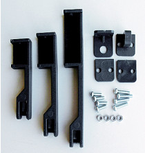 MCCB Lockout Permanently Mounted - Black