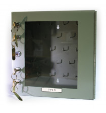 Lockout Box 300W x 300H With 1 Control Lock & 4 Secondary Locks