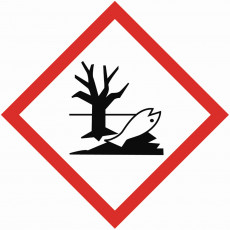 GHS ENVIRONMENTAL TOXICITY  sign 100 x 100mm