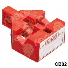 CB02 Double pole Circuit Breaker Lockout
