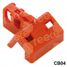 CB04 Double pole Circuit Breaker Lockout (miniature circuit breaker)