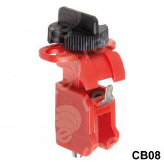 CB08 Lockout with adjustable thumb wheel operation