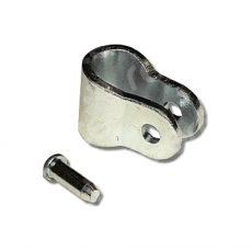 CK12 Pack of 12 chain fixing brackets with rivets