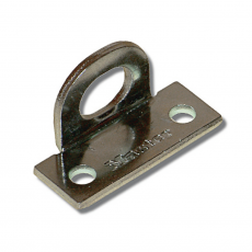 CK14 Pair of right angle padlock eyes