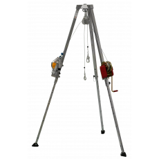 DB-A2 IKAR Tripod, PLWT Load Winch with HRA24 Rescue Device (IKAR Tripod)
