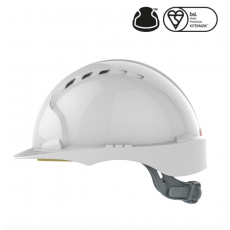 EVO2 vented Safety Helmet - White