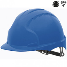 Industrial Safety Helmet - with slip sachet - Blue