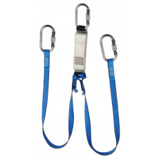 Twin Legged Webbing Energy Absorbing Lanyard - 1.75m