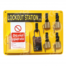 LSE104 Lockout Station ONLY