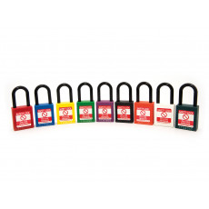 NC38 Nylon Shackle Safety padlock