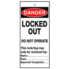 Locked Out Do Not Operate