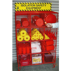 Padlockable Lockout Equipment Storage Cages