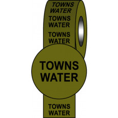 British Standard Pipeline Information Tapes - Towns Water