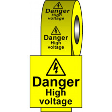 Safety Labels - High Voltage