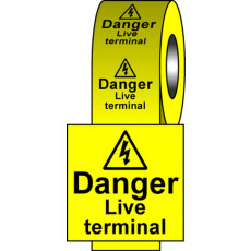 Safety Labels - Live Terminal