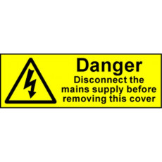 Electrical Safety Labels - Danger