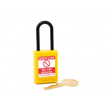 Masterlock S32 series Non Conductive Compact Padlocks-Yellow