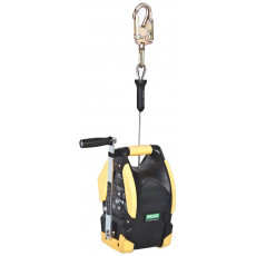 15m load and rescue winch for Workman tripod - s/s
