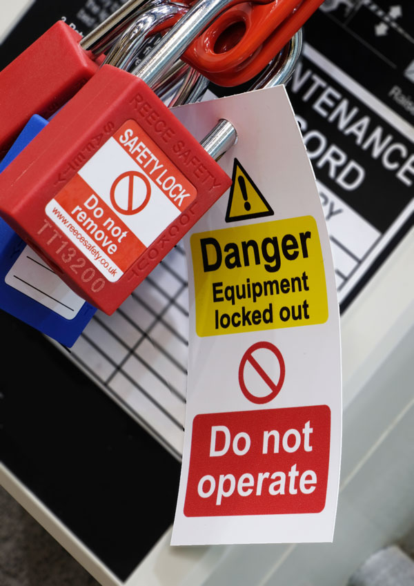 Storing Energy and Lockout Tagout